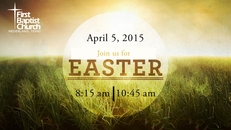 EasterServices2015