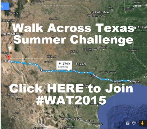 Walk Across Texas Challenge Sing Up