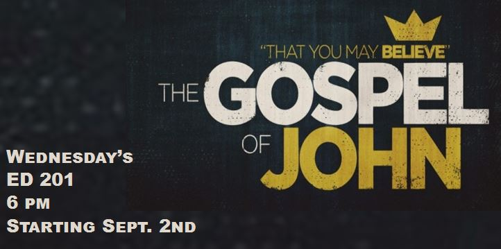 Mens Study - Gospel of John