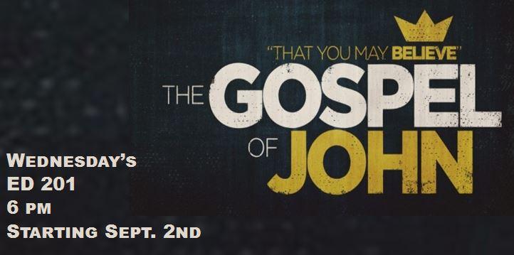 Mens Study - Gospel of John